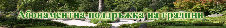 Абонаментна поддръжка на градини и дворове и зелени площи