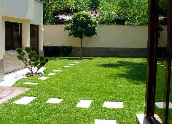 Луксозна поддръжка на частна градина