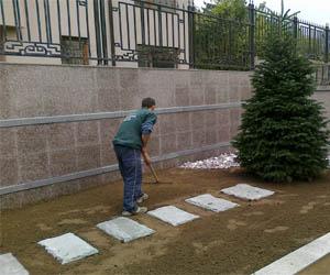 Подравняване и подготовка на терен за озеленяване
