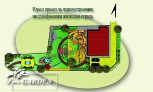 Проект за озеленяване на вила
